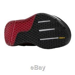 Reebok Mens Crossfit Nano 9 Training Gym Fitness Shoes Black Red Sports