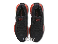 Reebok Zig Kinetica Black-Black-Red Men Trainers All Sizes Limited Stock