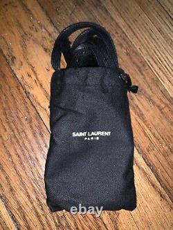 Saint Laurent COURT CLASSIC SL/10H Black/Red Size 45 (US 12)