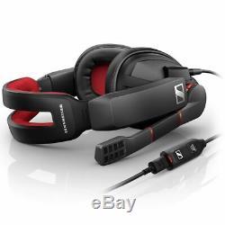Sennheiser GSP 350 Headset Microphone Gaming Mouse Pad Black/Red B-Stock