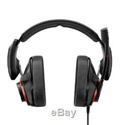 Sennheiser GSP600 Headphones Gaming, Black Red B-Stock