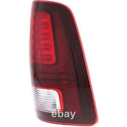 Set of 2 Tail Light For 13-16 Ram 1500 Driver and Passenger Side