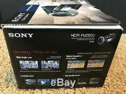 Sony HDR-PJ260V (16 GB) High Definition Camcorder + New Case and SD Card