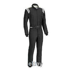 Sparco 00116660NRRS Conquest 2.0 Suit, Standard, Black/Red, 60