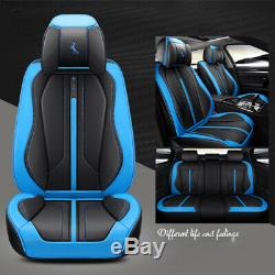 Standard 5-Seat Car Seat Cover Luxury Microfiber Leather & Interior Accessories