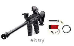 Tippmann 98 Custom Paintball Gun EXTREME Sniper Marker 18 Barrel, Stock, Red Dot