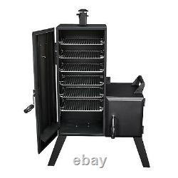 Vertical Charcoal Smoker Bbq Grill Pit Outdoor Backyard Meat Cooker 1,176 sq in