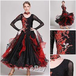 Vestito Da Ballo Liscio Standard Con Strass. Ballroom Dress. Valzer. Foxtrot