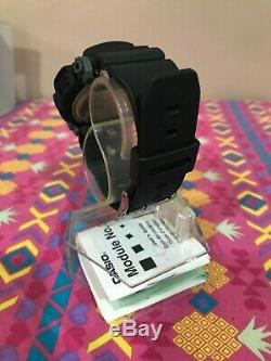 Vintage Casio G-shock Dw-9050 2163 Black Red Wristwatch New Old Stock