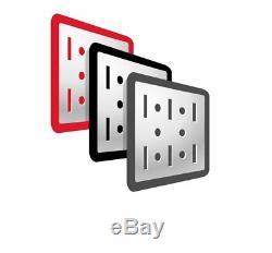 Wall Control Pegboard Standard Tool Storage Kit, Black/Red