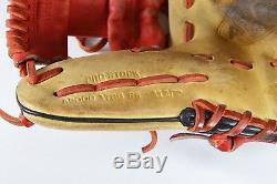Wilson Pro Stock 1786 SS A2000 11.5 RHT Black Tan Red Orange Baseball Gloves