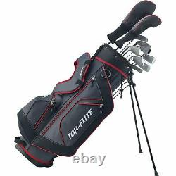 XL 13-Piece Complete Golf Set with Bag Right or Left Handed Pick Color Top Flite