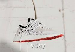 Y3 adidas Yohji Yamamoto Raito Racer Trainers Shoes White Black Red UK 7.5 41.3