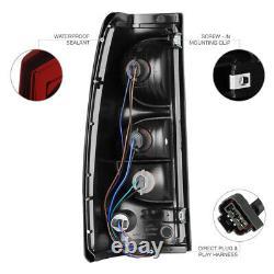 03-06 Chevy Silverado 2500hd Lampes De Frein Arrière Lampes Frontales Noires Assemblage De Style Oe