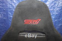 08-14 Subaru Wrx Sti Passager Avant Droite Siège Avant 2 Stock D'origine