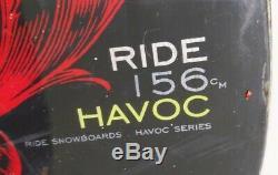 156 Tour Havoc Série Snowboard Avec Fixations (commutateur Standard X) Noir / Rouge