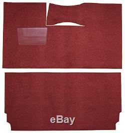 1957-1958 Chrysler Windsor Carpet Kit Cut & Sewn 80/20 Boucle Noir Rouge Bleu Cuivre