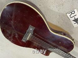 1993 Gibson USA Chet Atkins Guitare Électrique Vin Rouge Réparé