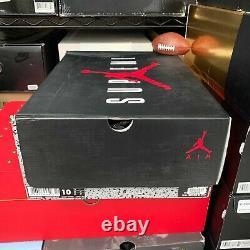 2015 Homme Noir Rouge Nike Air Jordan Retro 5 Suprême 824371-001 Sz 10 Vnds
