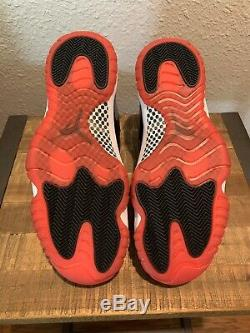 2019 Nike Air Jordan 11 Bred Noir Et Rouge Taille 13 Stock Morts