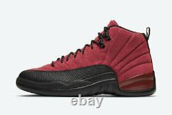 2020 Nike Air Jordan 12 Retro XII Reverse Flu Game Rouge/noir Ct8013-602