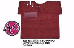 Acc 1955-1959 Kit Tapis De Plancher De Camion Chevrolet Gmc Daytona Pick Couleur Noir Rouge