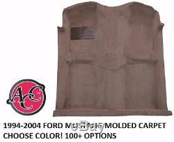 Acc 1994-04 Ford Mustang Moulé Kit Tapis Choisissez Couleur Noir Rouge Bleu Boss Shelby