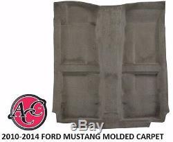 Acc 2010-14 Ford Mustang Moulé Tapis Kit Couleur Noir Rouge Pioche Bleu Patron Shelby