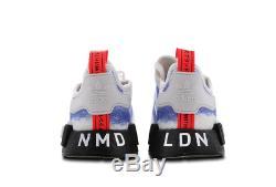 Adidas Baskets Hommes Nmd R1 Blanc-rouge-noir Toutes Les Tailles Stock Limité