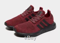 Adidas Baskets Pour Hommes Swift Run Rouge-noir Toutes Les Tailles Stock Limité