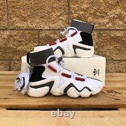 Adidas Crazy 8 A/d Atelier Homme Blanc/noir/rouge Hi-top Basket Athlétique Ac7737