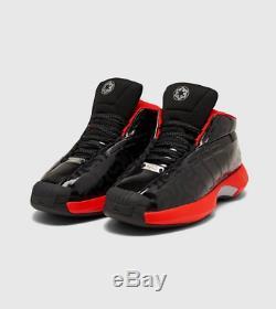 Adidas Fou 1 Sw Noir Rouge Baskets Homme Toutes Les Tailles Stock Limite