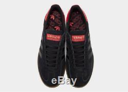 Adidas Handball Noir-rouge Spezial Homme Baskets Toutes Les Tailles Stock Limite