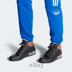Adidas Hardcourt Salut Hommes Noir Rouge Blanc Formateurs Bleu Toutes Les Tailles Stock Limite