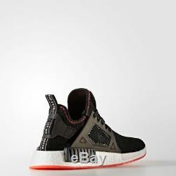 Adidas Homme Originals Nmd Xr1 Souliers Courses Trainers Noir / Rouge By9924