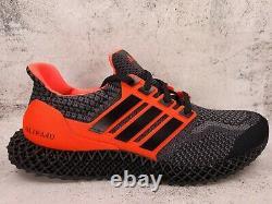 Adidas Homme Ultra 4d 5.0 Chaussures De Course Core Noir/rouge Solaire G58159 Taille 10