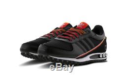 Adidas La Trainer II Homme Noir-rouge Formateurs Toutes Les Tailles Stock Limite