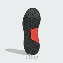 Adidas Nmd R1 V2 Hommes Noir Chaussures Blanc Rouge Formateur Espadrille Toutes Les Tailles
