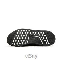 Adidas Nmd Ville Chaussette Noire Originaux Boost Rouge 100% Authentique G27354 Taille 6.5uk