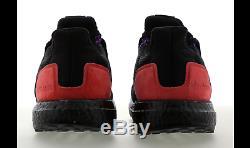 Adidas Ultra Boost Bhm Noir, Noir Et Rougetout Taille Limitée Stock