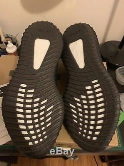 Adidas Yeezy Boost 350 Dead Stock V2 Noyau Noir Rouge Bred Taille 10.5 Avec Réception