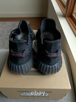 Adidas Yeezy Boost 350 V2 Black Red Bred 2020 Taille 10 Cp9652