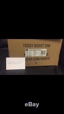 Adidas Yeezy Boost V2 Zebra Uk 11 Blanc / Noir / Rouge Mort Stock