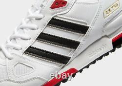 Adidas Zx 750 Formateurs Hommes Blanc Noir Or Rouge Limited Edition Chaussures De Toutes Tailles