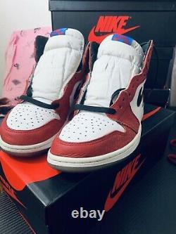 Air Jordan 1 Retro High Og Spider Man Histoire D'origine 555088-602 Taille 10.5