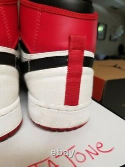 Air Jordan 1 Retro Ko Hi 2012 Wht / Blk / Red De 12 Séries Éliminatoires Concord Élevés