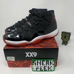 Air Jordan 11 Retro Bred 2012 Taille Homme 12 378037-010 Black Red Basketball