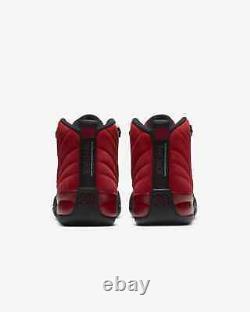 Air Jordan 12 Inverser Le Jeu De La Grippe Rétro Gs Varsity Rouge Noir 153265-602