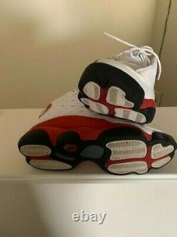 Air Jordan 13 Hommes Rétro Og Chicago Cherry Taille 8,5 8 1/2 Blanc Noir - Rouge