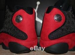 Air Jordan 13 Retro Taille Bred 11 Noir / Red Dead Stock